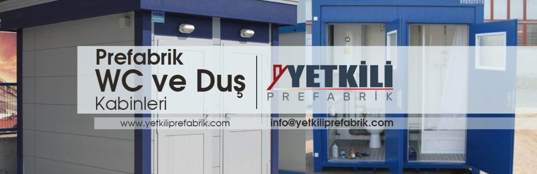 Prefabrik Wc ve Duş Kabinleri